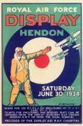 Royal Air Force Display Hendon 1934
