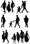 Military Silhouettes 1915
