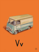 V is for van
