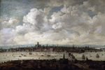 View of London from Southwark 1640-60
