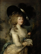 Portrait of Georgiana Duchess of Devonshire c.1785-87