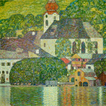 Church in Unterach on the Attersee 1916