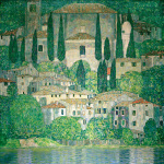 Church in Cassone 1913