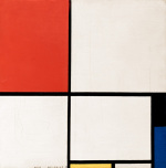 Composition in Red Yellow and Blue 1928