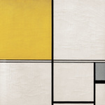Composition with Double Line and Yellow and Grey (Composition B) 1932
