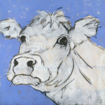 Cow on Lilac 2