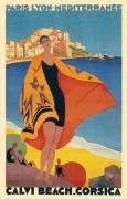 Calvi Beach Corsica circa 1932
