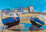 Two Fishing Boats St Ives