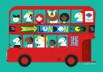 London Bus by Sean Sims