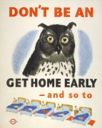 Don't be an owl 1943