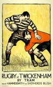Rugby at Twickenham 1921