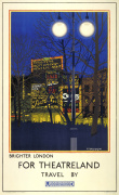 Brighter London for Theatreland 1924