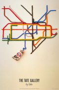 Tate Gallery by tube 1986