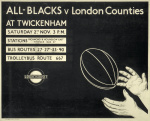 All-Blacks v London Counties 1935