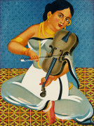 A courtesan with a violin 1930