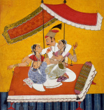 Seated prince, c.1710-20 by Unknown artist