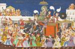 Maharao Umed Singh of Kota c.1850