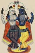 Krishna and Balarama c.1855