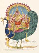 The god Subrahmanya the god of war c.1825