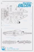 Star Wars Episode VII - Millennium Falcon Plans