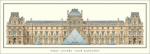 Paris - Louvre Cour Napoleon