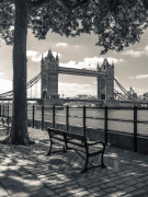 Tower Bridge and Bench
