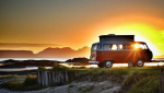 VW West Coast Scotland Sunset