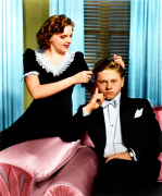 Mickey Rooney and Judy Garland (Andy Hardy Meets A Debutante) 1940