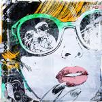 Sunglass Kiss by Teis Albers
