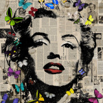Marilyn - Butterflies 3