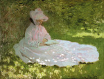 The Reader (La liseuse), c.1872-74 by Claude Monet