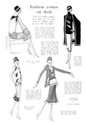 Fashions for the Stage Production of Peggy