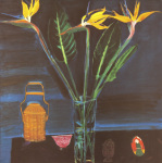 Still Life with Strelitzias