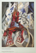 Red Eiffel Tower 1911-12