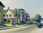 Sun on Prospect Street (Gloucester Massachusetts) 1934