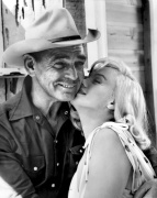 Marilyn Monroe and Clark Gable - The Misfits