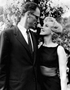 Marilyn Monroe with Arthur Miller