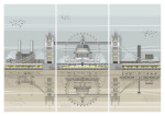 London Landmarks Triptych