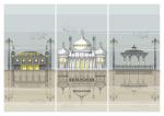 Brighton Landmarks Triptych