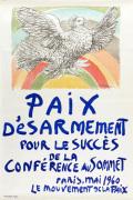 Paix Désarmement pour le Succès de la Conférence au Sommet 1960