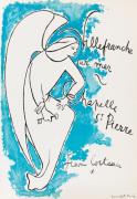 Chapelle Saint Pierre Villefranche sur Mer 1957