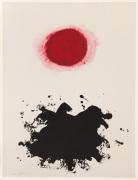 Untitled (Red Burst) 1969 (Signed)