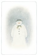 The Snowman inside cover illustration