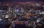 Aerial View of London 2015