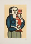 Femme a la Cruche reproduction 1992