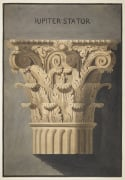 Rome Temple of Jupiter Stator Corinthian order capital