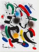 Lithographie Originale VI 1972