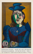 Buste de Femme au Chapeau Blue- Musee des Arts Decoratifs 1955
