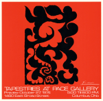 Tapestries at Pace Gallery (1974)