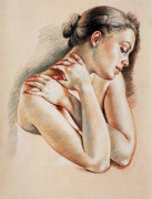 Study for Nadege by Francine Van Hove